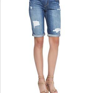 NWT Joes Jeans Easy Distressed Bermuda Shorts Sz28